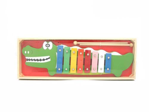 Crocodile Metal Xylophone -