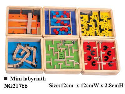 Labyrinth 6 Style - Mini (each) -