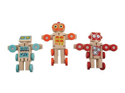 Robot Transformer - mini wooden (each) 3 left - Robot Transformer - mini wooden (each)