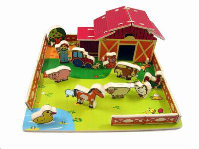 Farm Animal Playset - Farm Animal Playset