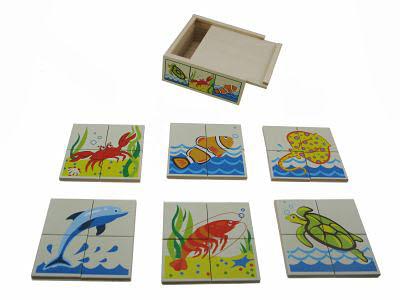Sea Animal Puzzle Box -