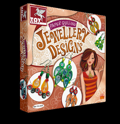 Paper Quilling Jewellery -