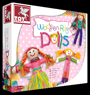Woollen Rag Doll -