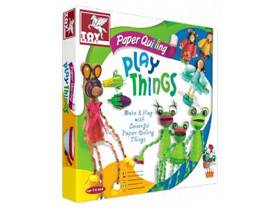 Paper Quilling Play Things -