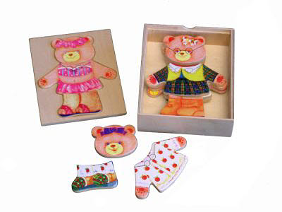 Dressing Bear - Girl -