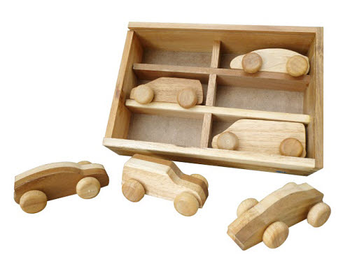 Car Play WoodenSet - Car Play Wooden Set