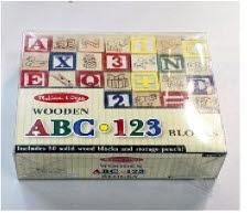 M&D ABC 123 Blocks -