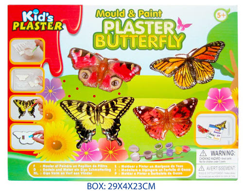 Craft-Mould & Paint - Butterfly -