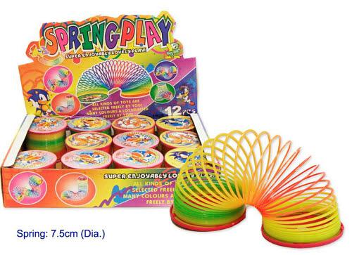 Rainbow Slinky Spring - Rainbow Slinky Spring