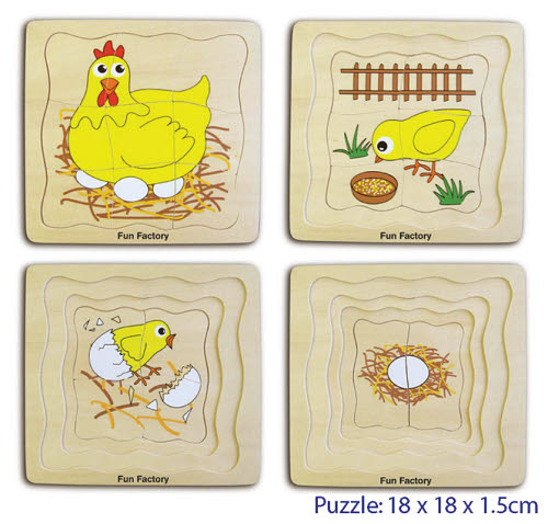 Puzzle - 4 Layers Chicken -