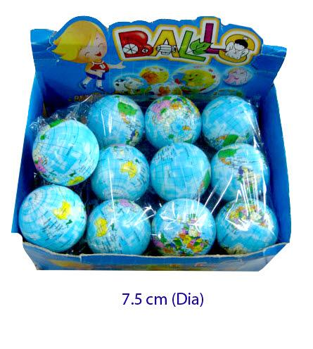 Ball - Globe  PVC (each) - PVC Ball - Globe (each)