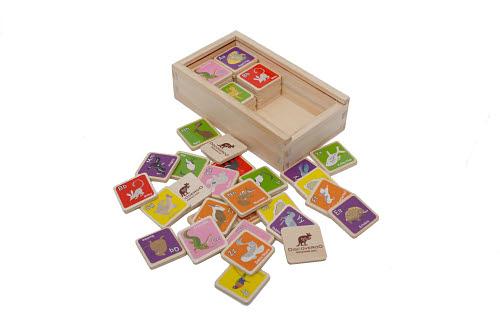 Discoveroo - Animal Memory Alphabet Game -