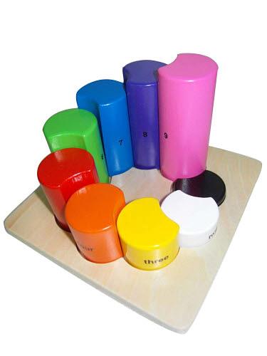 Discoveroo - Rainbow Shape & Number Sorter - Discoveroo - Rainbow Shape & Number Sorter