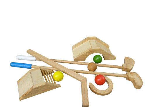 Mini Golf Set - 9 Piece Set - Mini Golf Set - 9 Piece Set