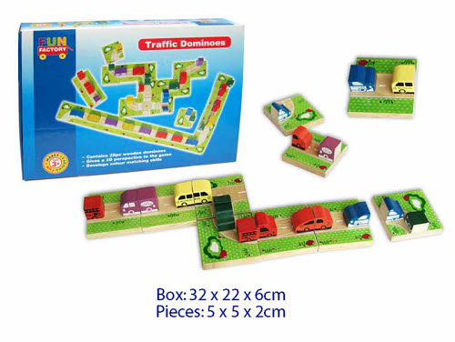 Dominoes - 3D Traffic 28PC -