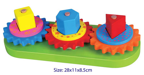 Turning Geometric Blocks & Gears - Turning Geometric Blocks & Gears