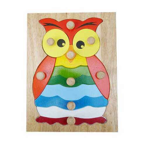 Hootie Owl Knob Puzzle - Hootie Owl Knob Puzzle