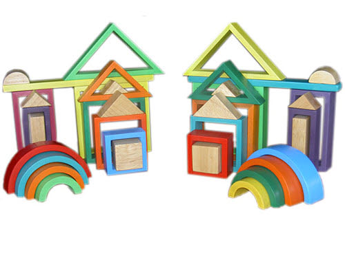 Rainbow Nesting Blocks -