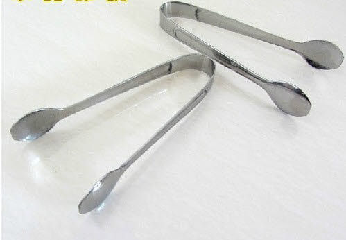Tong - Sugar S/Steel - sml (set of 2) - Sugar Tong S/Steel - sml (set of 2)