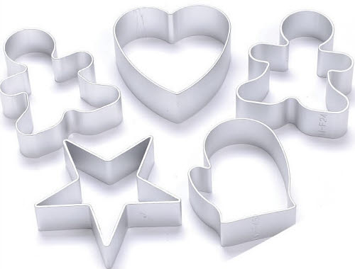 Baking Moulds (Set of 5) Inc. Free Silicone Brush - Baking Moulds and Silicone Brush (Set of 5)