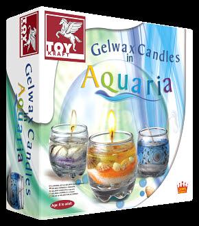 Gelwax Candles  Aquaria - Gelwax Candles  Aquaria