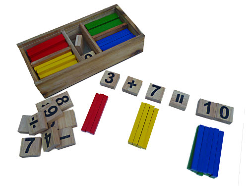 Maths Aid (Montessori) - Maths Aid Set