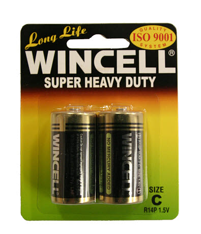 Battery C Super Heavy Duty 2/PK - Battery C Super Heavy Duty 2/PK