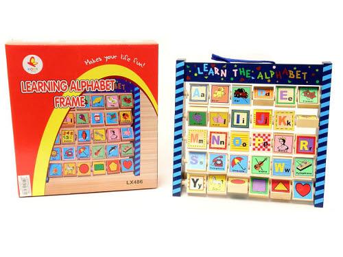 Alphabet Abacus Frame - Alphabet Abacus Frame