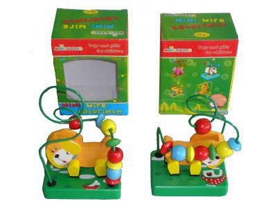Bead Maze Dog Roller Coaster (each) - Bead Maze Dog Roller Coaster