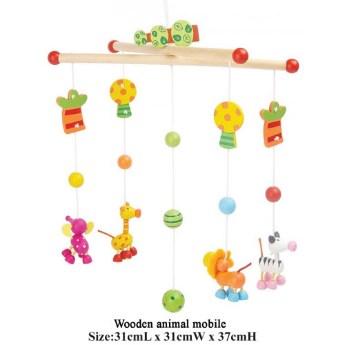 Mobile - Wooden Animals Set - Mobile - Wooden Animals Set