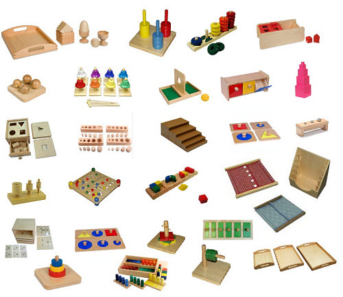 2-3 Montessori Full Classroom Package - Save over $500 - 2-3 Montessori Full Classroom Package