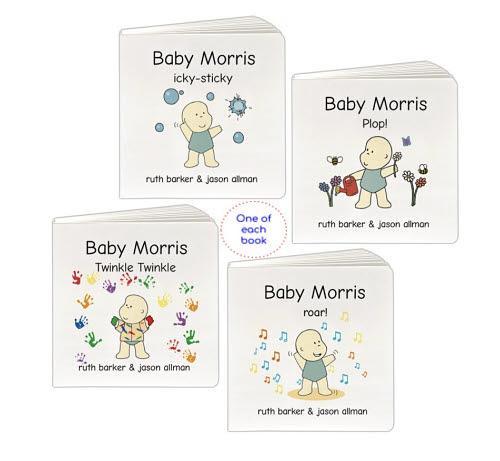 Baby Morris - Inspiring Realistic Play 3 Book Set - Baby Morris - Inspiring Realistic Play 3 Book Set