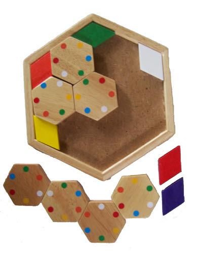 Hexagon Domino -
