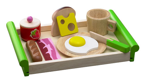 Breakfast Tray - Wood - Breakfast Tray - Wood