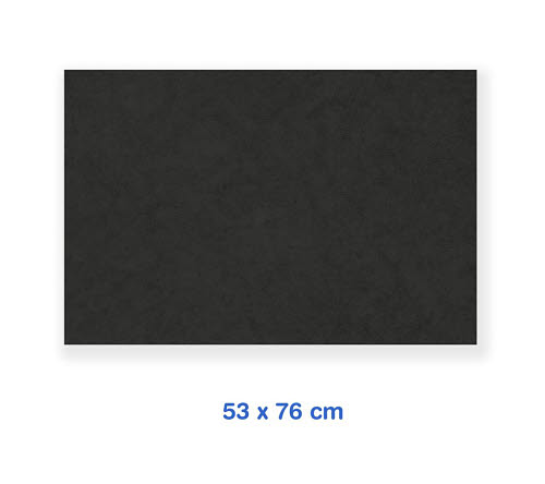 Coloured Board - Black A1  25 sheets pack -