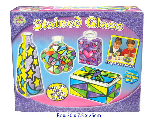 Stained Glass Playset -