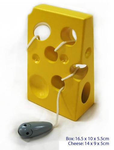 Threading Exercise  Cheese Block - Threading Exercise Cheese Block