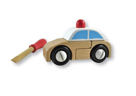 Discoveroo- Construction Set - Police Car -