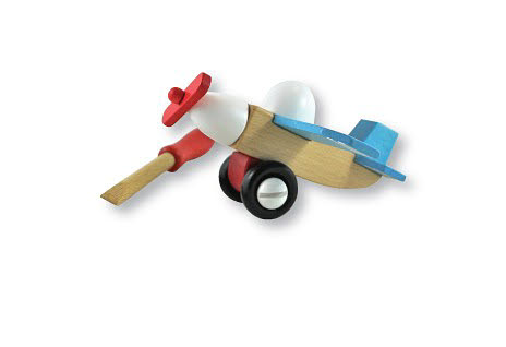 Discoveroo- Construction Set - Plane -