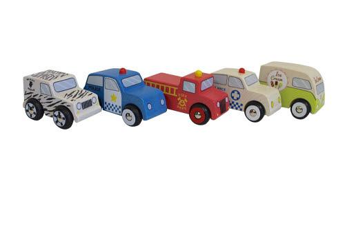 Discoveroo- 6 Car Set - Discoveroo- 6 Car Set
