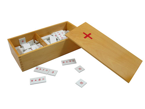 Addition Equations and Sums Box - Wood - Addition Equations and Sums Box - Wood