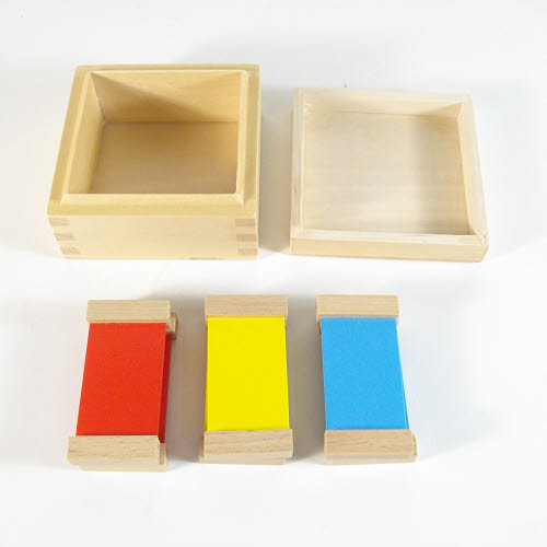 First Box of Colour Tablets - Wooden Holders - First Box of Colour Tablets - Wooden Holders