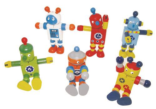 Robot Transformer Fun Characters - mini wooden (each) - Robot Transformer Fun Characters - mini wooden (each)