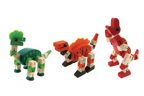 Twist and Lock Dinosaur (each) - Twist and Lock Dinosaur