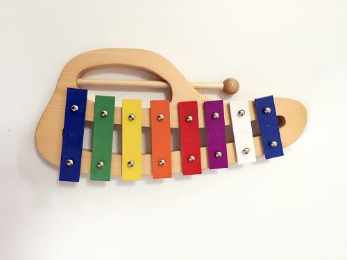 Curved Wooden Xylophone - Curved Wooden Xylophone