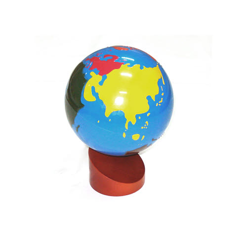 Globe Of World Parts (Coloured) Factory Seconds - Globe Of World Parts (Coloured) Factory Seconds