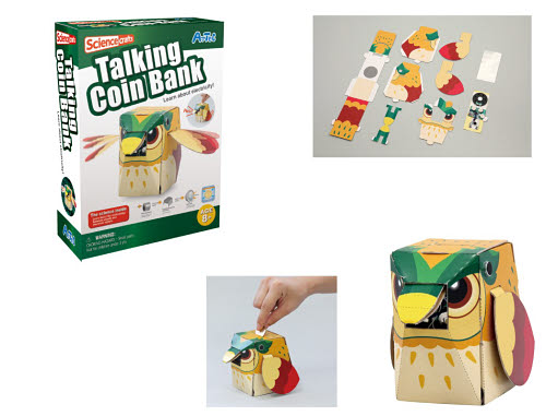 Make your own Talking Coin Bank - Make your own Talking Coin Bank