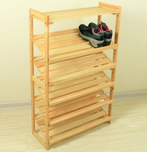 Shoe Rack in Pinewood - Only 3 units left - Shoe Rack in Pinewood