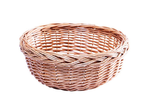 Wicker Basket (Suitable also for storing Geometric Solids) - Wicker Basket for Geometric Solids
