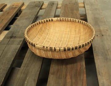 Bamboo Basket Round 25cm - Bamboo Basket Round 25cm